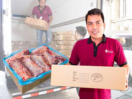 Meat Delivery ALFA Foods